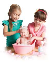 realistic newborn doll bath time set baby doll gift set with our