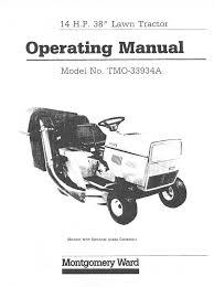 montgomery ward lawn mower tmo 33934a user guide manualsonline com