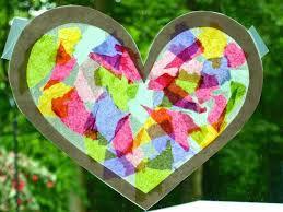 glimmer creations tissue paper stained glass craft tutorial