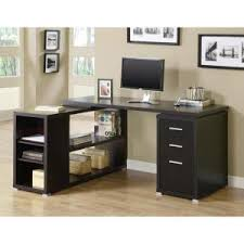 Cappuccino Computer Desk Monarch 2 In 1 Piece Cappuccino Office Suite I 7019 The Home Depot