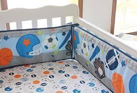 Baby Boy Sports Crib Bedding Sets F C L Bedding Sets New 10 Pieces Baby Boy Sport Crib Bedding Set