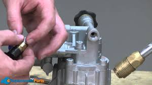 how to replace the pump on a pressure washer a quick fix youtube
