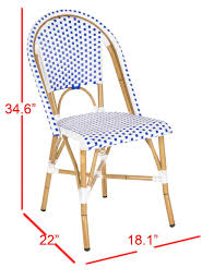 European Bistro Chair Fox5210a Set2 Dining Chairs Outdoor Dining Chairs Outdoor Home