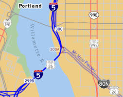 map of oregon freeways oroads the mt freeway