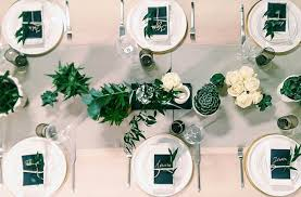 table setting neutral table setting with succulents