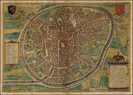 Brussels Map File Map Of Brussels By Braun And Hogenberg Jpg Wikimedia Commons
