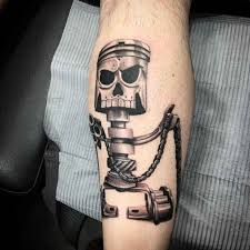 piston robot tattoo best tattoo ideas gallery