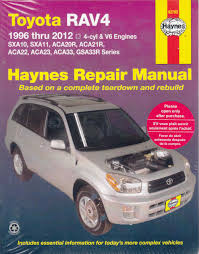 toyota rav 4 1994 owners manual 100 images electrical wiring