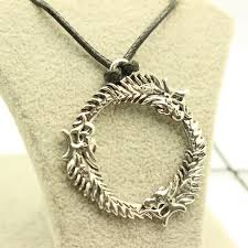 dragon necklace skyrim images Modern skyrim pendant necklaces tryripple jpg