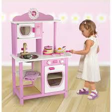 childrens wooden kitchen furniture childrens wooden kitchen pretend play kitchens ebay pink