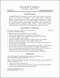 Pilot Sample Resume Lofty Idea by Resume Sample Military Resume Examples Download Military Resume