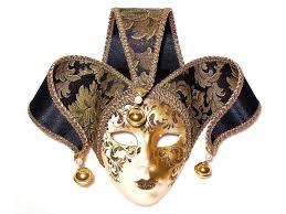venetian masks venetian mask on medium basket of chocolates panache