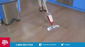 Laminate Floor Spray Dirt Devil Spray Mop With Swipes Pd11020 Youtube