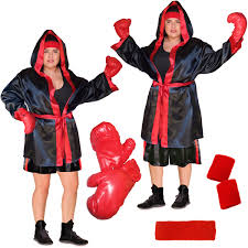 boxer costume sale punch em out or standard boxer costume plus size