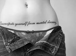 brilliant text belly tattoo design for women tattooshunter com