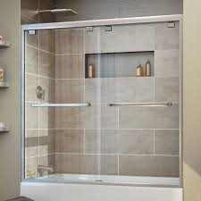 dreamline encore 60 x 58 bypass single sliding tub door