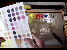 how to mix u0026 match colors painting lesson youtube
