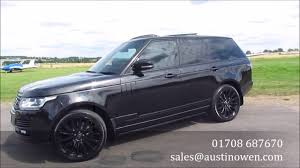 range rover car black range rover autobiography tdv8 black for sale austin owen elite