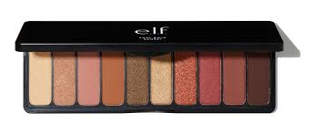 rose gold l shade wow i want the e l f rose gold eyeshadow palette in sunset