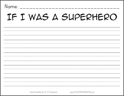 printable handwriting worksheets for 2nd graders superhero worksheets 4th grade free printable writing prompts