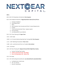 nextgear floor plan september agenda ae se orientation by nextgear capital issuu