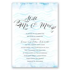 wedding vow renewal ceremony program watercolor chevron vow renewal invitation invitations by