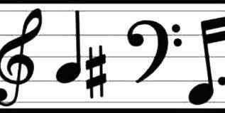 black and white wallpaper ebay best music note border 2941 clipartion com
