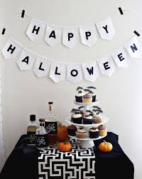 Halloween Garland Halloween Table Decor Black Pumpkin Halloween Decoations Stainless