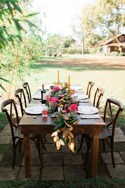 table and chair rentals orlando 8ft farm table orlando wedding and party rentals