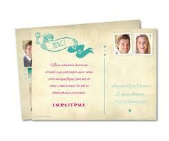 modele remerciement mariage remerciement mariage carte postale vintage planet cards