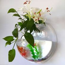 Hanging Glass Wall Vase Popular Wall Vases Glass Buy Cheap Wall Vases Glass Lots From
