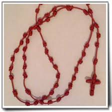 knotted rosary knotted rosary from rwanda angel blessings offical store for