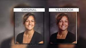high school yearbooks altered yearbook photos at utah high school spark controversy