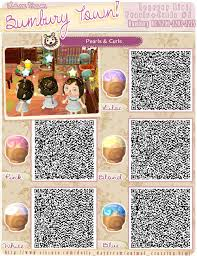 acnl hair animal crossing qr codes