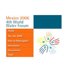 Annexe Iii Modèle D Arrêté Emportant Blâme Les Wecf Events 4th Water Forum Mexico