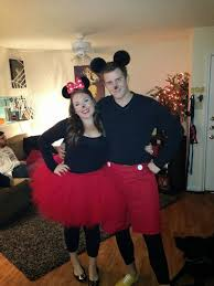Minnie Mouse Halloween Costumes Adults Diy Minnie U0026 Mickey Mouse Costume Cute Dont
