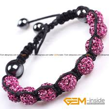 diy crystal bead bracelet images 10mm clay rhinestones pave shining crystal disco ball beads jpg
