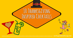 10 thanksgiving inspired cocktails