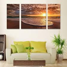 Home Decoration Art Canvas Beach Promotion Shop For Promotional Canvas Beach On