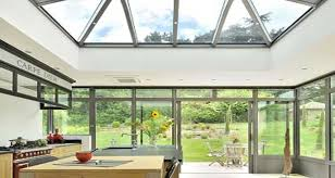 extension cuisine une véranda stylée pour aménager une cuisine de 28 m2