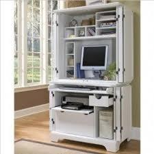 Lockable Desk Computer Armoires U0026 Hutches Foter