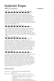 It Specialist Resume Examples Enchanting Vmware Specialist Resume 69 In Resume Examples With