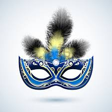 party mask venetian carnival mardi gras colorful party mask with