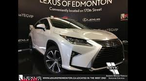 lexus rx 350 interior colors 2017 lexus rx 350 awd review youtube