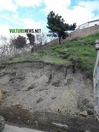 lavello comune lavello attenzione il terreno sta cedendo il comune corre ai ripari