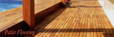 Wood Patio Flooring by Teak Flooring For Your Patio Creates A Luxurious New Surface