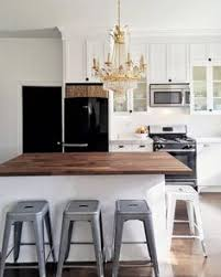Black Or White Kitchen Cabinets Black Appliances And White Or Gray Cabinets U2013 How To Make It Work