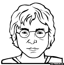 Famous People Online Coloring Pages Page 1 The Color Page
