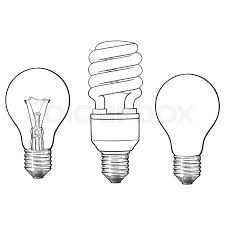 set of transparent opaque glowing and energy saving spiral