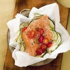 cuisine en papillote recette saumon en papillotes express